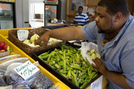 JML Buying Cymlings in Mississippi at an HBCU Sponsored Farmer's Market